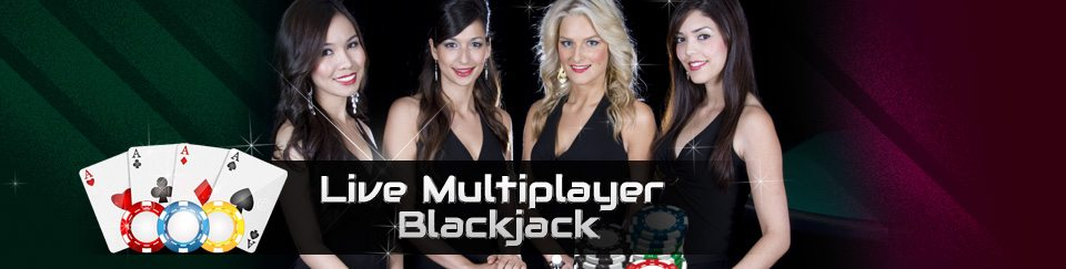 Live-Multiplayer Blackjack