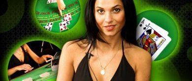 Blackjack en vivo en línea
