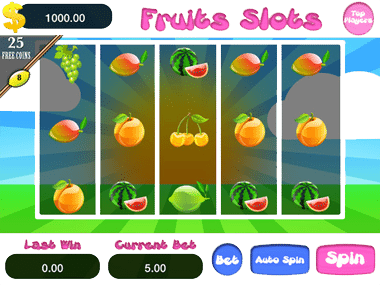 Mobile Fruit Machine Casino Games