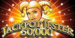 Jackpot, Jester-50-000-Slote