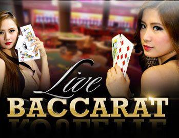 Witryna internetowa Baccarat na żywo