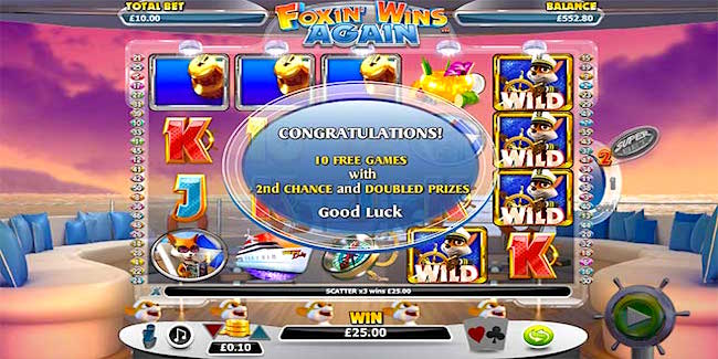 Foxin Wins Slots for Mobile