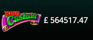 Kráľ Cashalot Jackpot Slots