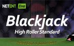 Élő Blackjack Standard High Roller